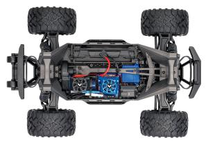 Traxxas Maxx 1/10 Scale 4WD Brushless Electric Monster Truck, VXL-4S, TQi  (orange)