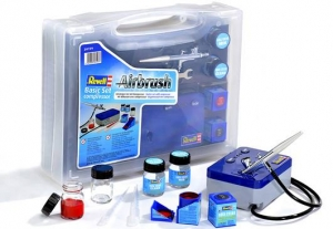 39199  Revell Airbrush Basic Set mit Kompressor